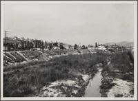 [Upper part of Arroyo Seco, looking north from Avenue 60 Bridge]