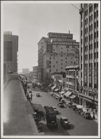 [Looking south on Olive Street from 6th Street]