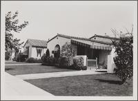 [4th Avenue south of Santa Barbara Avenue, looking toward northeast]