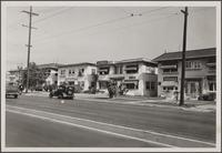 [Looking northeast on Western Avenue from Western and Barton Avenues]