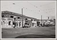 [Grand Avenue, Adams Boulevard and Alameda Street, looking northwest on Grand Avenue from 10th Street...]
