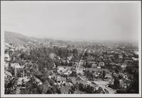 [Hilltop view east toward Hollywood]