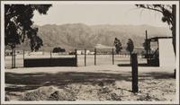 [From San Fernando Road, San Fernando Valley west of Burbank; alluvial cones with vineyards]