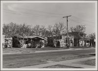 [East 60th Street, north side, east of Hooper Avenue houses]