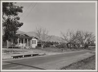 [Loose settlement on Mountain View Road, Altadena]