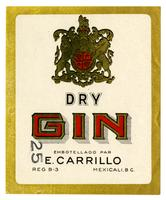 Dry gin, E. Carrillo, Mexicali, Baja California