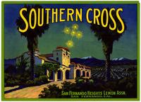 Southern Cross brand lemons, San Fernando Heights Lemon Assn.