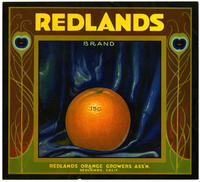 Redlands Brand oranges, Redlands Orange Growers Ass'n.