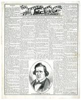 Pictorial News Letter of California. For the Steamer Sonora, March 20. No. 1.