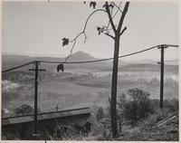 Mokelumne Hill from the Argonaut Mine, Jackson, Amador County, California