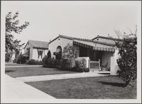 4th Avenue south of Santa Barbara Avenue, looking toward northeast