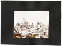 Workers at a lemon washing machine, Riverside, California