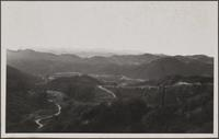 Looking west from east of Coldwater Canyon, Santa Monica Mountains