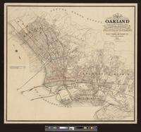 Map of Oakland and vicinity