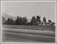 Loose settlement on Mountain View Street, Altadena