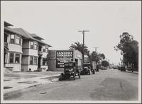Looking northeast on East 10th Street, west of central Japanese and Negro quarter