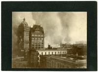 Call Building in flames, San Francisco