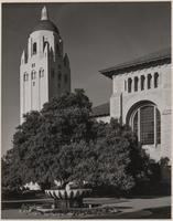 Stanford University Library and Hoover Tower, Santa Clara County, California