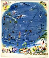 Menu, Don the Beachcomber, Hollywood