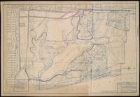 Contour map of the Lake Merced properties showing improvements