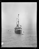 S.S. City of Puebla, transporting troops to Philippines, San Francisco Bay