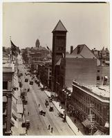 Broadway, north from Third Street, Los Angeles