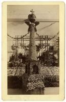 Celebrating the opening of Santa Fe Railroad