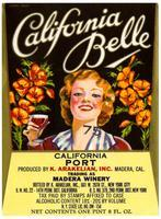 California Belle California port, K. Arakelian, Inc., Madera Winery, Madera