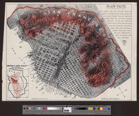 Burned district San Francisco