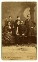 Mrs. Josefa R. (del Valle) Forster, Ignacio del Valle, Jr., Mrs. Ysabel (de Valle) Cram, Reginaldo F. del Valle, and Ulpiano F. del Valle