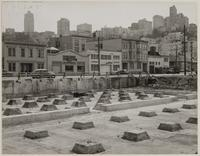 View of Russian Hill from North Beach Housing Project, San Francisco