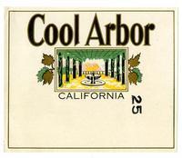 Cool Arbor brand, California