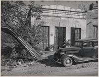 Old newspaper office, Mokelumne Hill, Calaveras County, California