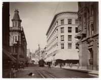 Third Street, west from Spring Street, Los Angeles