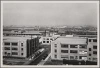 Looking north-northwest from roof of central manufacturing district (Vernon)