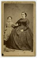 Ysabel del Valle with child
