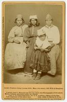 Jack's family-Lizzy (young wife), Mary (his sister), Old Wife & daughter