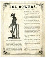 Joe Bowers. A very pathetic ballad, as sung by Mr. Johnson, of the Melodeon, San Francisco.