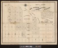 Map of land of the Noe Garden Homestead Union, San Francisco
