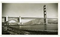 Completed Golden Gate Bridge, May 1937