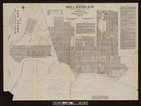 Map of San Pedro, Los Angeles Harbor