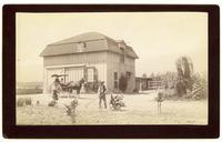 Philip Beck  barn and residence