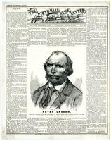 Pictorial News Letter of California. For the Steamer John L. Stephens, April 5, 1858. No. 2.