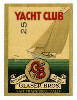 Yacht Club, Glaser Bros., San Francisco