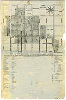 Map of the burnt district of San Francisco, showing the extent of the fire...