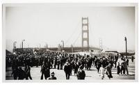 Golden Gate Bridge opening celebration, Pedestrian Day, May 27, 1937