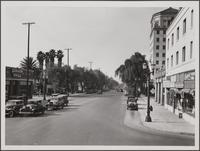 Looking west from Sunset Boulevard and Wilcox Avenue