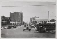Wilshire Boulevard from east of New Hampshire Avenue