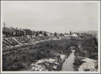 Upper part of Arroyo Seco, looking north from Avenue 60 Bridge
