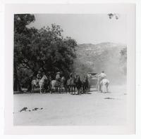 Hollywood cowboy scene, Los Angeles